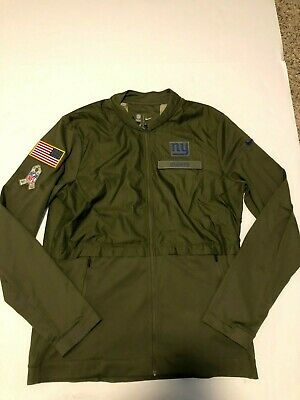 outlet store 54534 ae9ef NIKE MEN'S NEW York Giants Salute To Service STS Hybrid Jacket 2018 Mens L
