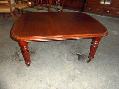 Victorian Mahogany Dining / Kitchen Table