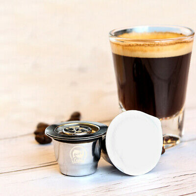 Reusable Stainless Steel Coffee Capsule Pod for Nespresso Coffee Machine
