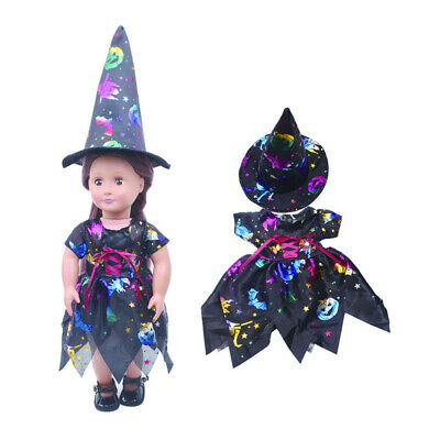 """Fairy Dress Top Hat Clothes for 18"""" AG American Doll Molly Doll Outfits Clothes"""