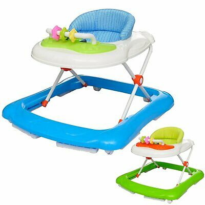 Baby Walker Rocker Play Activity Centre Infant Musical Toys Gift Blue/Green