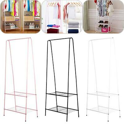 Clothes Rail Rack Garment Dress Hanging Display Stand Shoe Rack Storage Shelfs