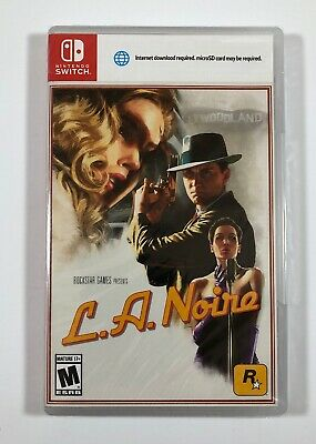 Rockstar Games L.A. Noire (Nintendo Switch, 2017) Fast Free Shipping