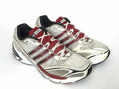 fde152a76e9d3 Adidas Supernova Cushion 7 Red White Navy Training Running Shoes Mens Size  10.5M