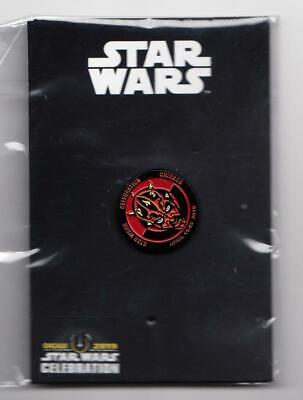 Star Wars 2019 Celebration Chicago Darth Maul Pin Le Sealed