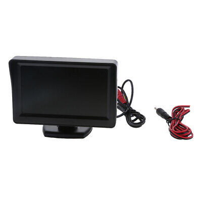 """4.3"""" TFT LCD Color HD Mirror Monitor for Car Reverse Rear View Backup Camera"""
