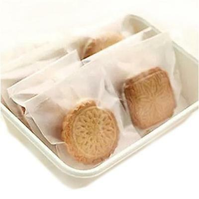 100pcs Cookie Biscuit Packaging Gifts Bag Lipstick Self Adhesive Candy Bag MH