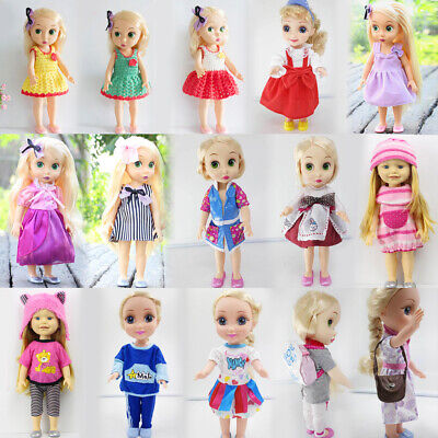Cute Lace Dress Green Clothes Accessories for 40cm 16-inch Salon Doll Gifts