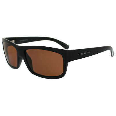 Serengeti Polarized Photochromic Rivoli Gafas de Sol Negras