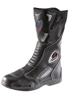 Protectwear Motorcycle boots Sport Cow Leather  03203 Size 42 EU 8UK