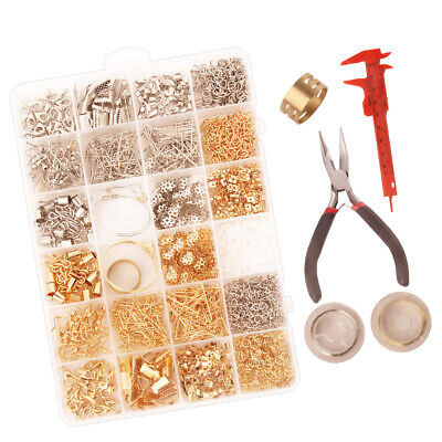 A of Box Jewelry Making Starter Kit Earring Bracelet Necklace Findings DIY