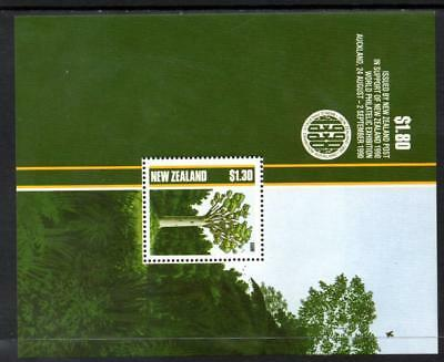 1989 New Zealand~Native Trees~Unmounted Mint M/S~Stamp Set~ UK Seller~