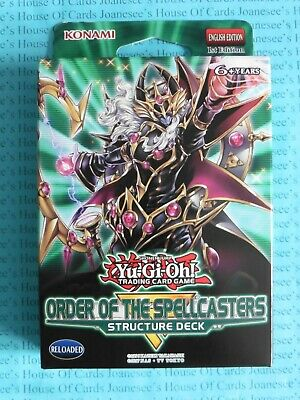 Structure Deck: Order of the Spellcasters SR08 Yu-gi-oh 1st Edition Sealed BNIB
