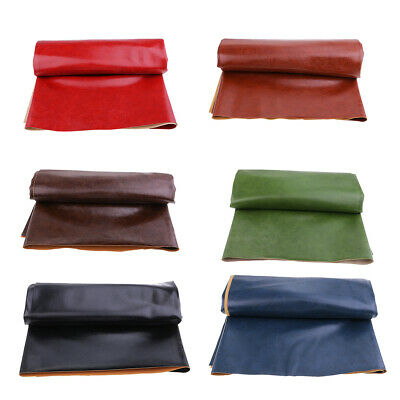 Faux Leather Fabric PU Leather Upholstery Leatherette Leathercloth 1 Yard