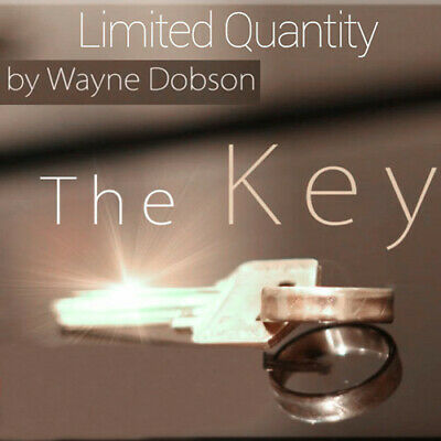The Key by Wayne Dobson -Silver,Close up Magic Tricks,Gimmick,Illusions,Street