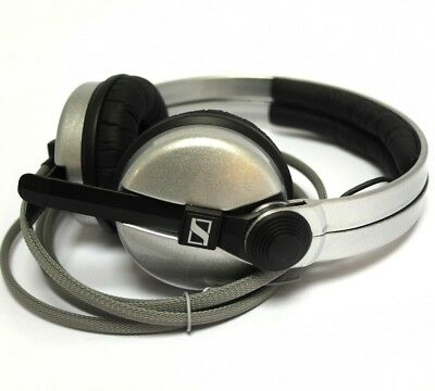 Custom Cans Rockstar Silver sennheiser HD25 DJ Headphones with 2yr warranty