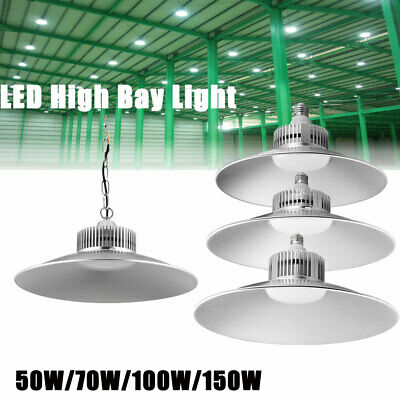 LED High Bay Light 50W-150W Entrepôt Industriel Comercial Factory blanc froid