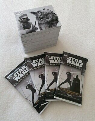 Topps Star Wars The Empire Strikes Back Black & White Trading Card Base Set