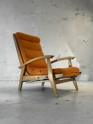 1950 GUY BESNARD  FREESPAN FAUTEUIL MODERNISTE RECONSTRUCTION Arp Guariche