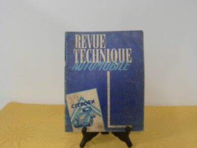 Revue Technique Automobile 2CV  Mars 1953 CITROEN