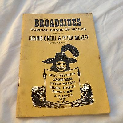Broadsides: Topical Songs of Wales, O'Neill & Meazey, 1973 feat. Meic Stephens