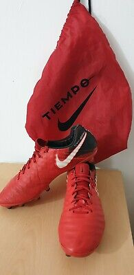 newest 99ee3 51981 NIKE TIEMPO FLYKNIT ACC Mens Football Boots UK Size 9.5 Special Edition!  MINT!
