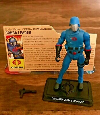 Joe 25th Cobra Commander V24 Complete G.I