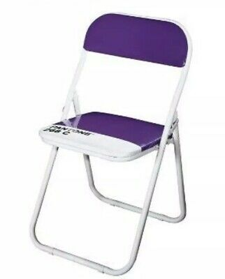 NIB Pantone Folding Chair By Seletti Royal Purple