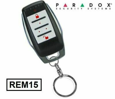 Paradox Security Alarm Magellan REM15 Slim Remote Control Fob  433MHz - New