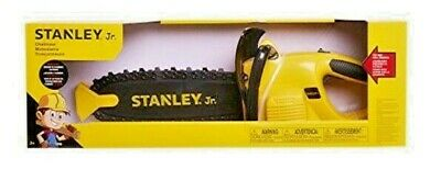 Stanley Jr Chainsaw--Kids Toy Tools--Realistic Sounds--BRAND NEW IN BOX-UNOPENED