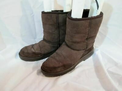 3b957d7526a MENS UGG 5220 NEW ZEALAND Ultra Short Leather BOOT BROWN 12 CHOCOLATE