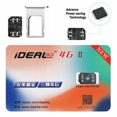 iDeal 2 Unlock iphone Sim Card Sticker For iPhone X 8 7 6S 6 Plus + 5S SE 5LTE A