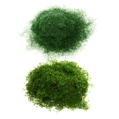 2x Foliage Lichen Moss for Model Trees Bushes Hedges Grass DIY Accessory #G