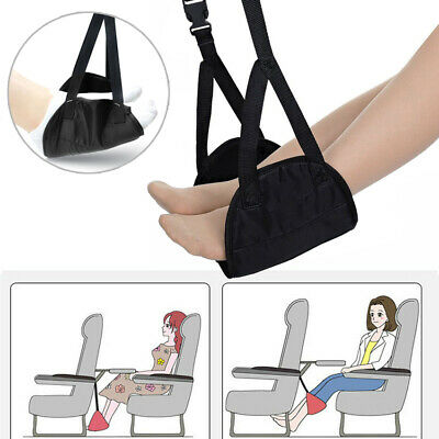 Comfy Hanger Airplane Travel Footrest Hammock Foot Made with Premium Memory Foam