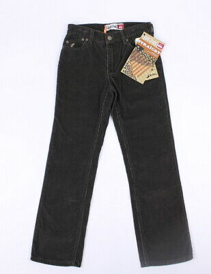Quiksilver Boys Sequence 2 Straight Fit Corduroy Jean Pants Brown 24 New