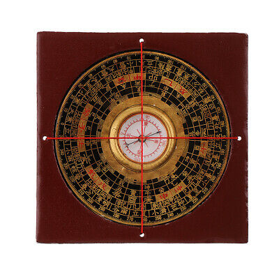 Fengshui Compass Luo Pan Fengshui Tool Professional Geomantic Collectables