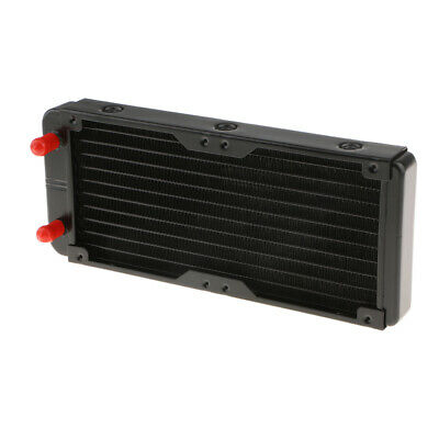 240mm 10 Tubes Alloy PC Computer Radiator Water Cooler For LED CPU Heatsink