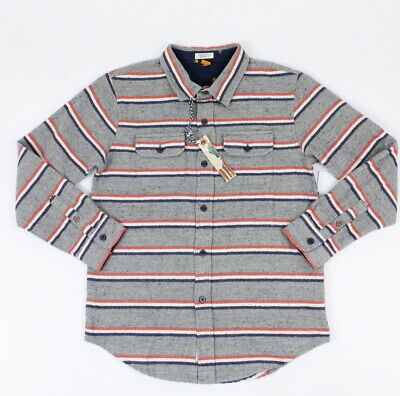 Tops, Shirts & T-shirts Clothing, Shoes & Accessories Nice Tailor Vintage Boys Connecticut Originals Woven Button Up Grey 12 New