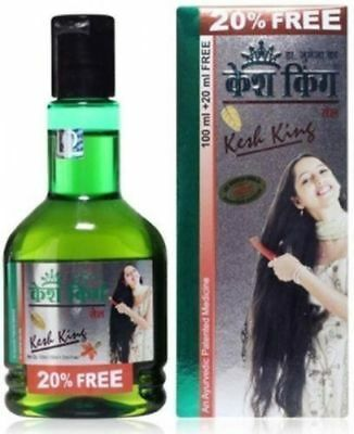 Kesh King 120ml Ayurvedic Hair Oil 16 Herbs Bhringraj Amla Brahmi & More