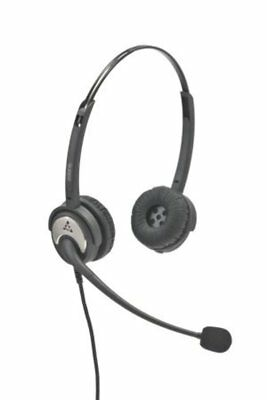 Polaris Headset Sw20Nd Soundpro Wideband Binaural Noise Cancelling Dc (Cord Incl