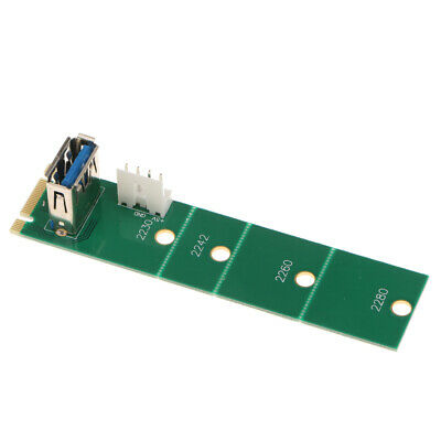 NGFF M.2 to USB 3.0 Adapter Converter Expansion Riser Card with Screwdriver