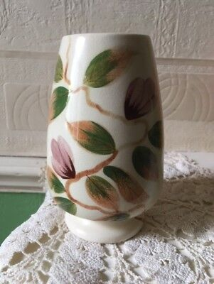Vintage J Fryer Ltd Oldcourt Ware Vase Hand Painted Circa 1960s English Pottery