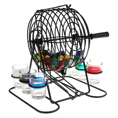 PROFESSIONAL LARGE BINGO GAME SET playing ball sets cage cards markers games new