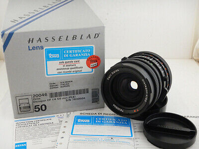 Hasselblad 50mm f4 FLE CF Distagon T* Lens CARL ZEISS Excellent Condition