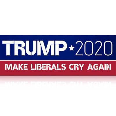 10x Donald Trump President Funny Stickers 2020 Elections Make Liberals Cry Again
