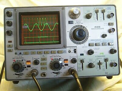 Tektronix 485 Refurbishing Service, Repair, Calibration, Case Painting
