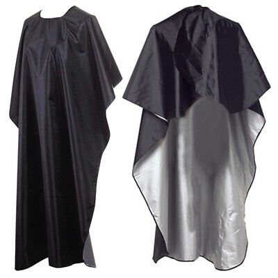 Salon Barber Hairdressing Waterproof Gown Cloak Dye Cut Styling Cape Cloth
