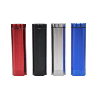 Portable Mini Herb Grinder Aluminum Alloy Double-layer Dugout With Grinder