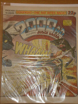 2000Ad #400 British Weekly Comic Judge Dredd *