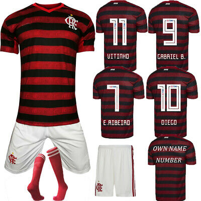 2020 Football Outfit Kits Soccer Jersey Strips Training Kids Adults NO SOCKS
